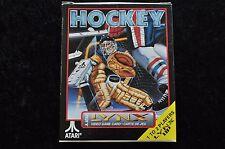 Hockey Boxed Atari Lynx