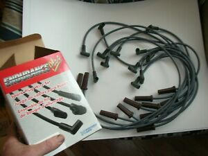 BBC CHEVY 396-427-454-502 HEI grey 8mm  SPARK PLUG WIRES made in usa