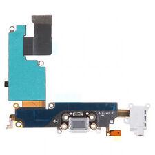 Dock Connector/Charging Port/Headphone Jack Flex for Apple iPhone 6 Plus (WHITE)