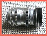 Schneider Kreuznach Xenoplan 1.9 13 mm prime lens . Near mint. D mount.
