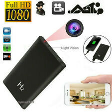 HD 1080P DVR Nanny/Hidden Camera Power Bank Night Vision Video Recorder 5000mAh