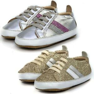 Old Soles Infants Sneakers Iggy Lace-Up Kids Early Walker Shoes NEW