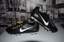 Rare Nike Zoom 90 Total ninety Strike Black Soccer Cleat Size US 12.5 316245-001