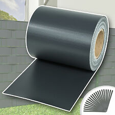 Rouleau 70mx19cm PVC brise-vue pare-vent pour clôture terrasse jardin anthracite