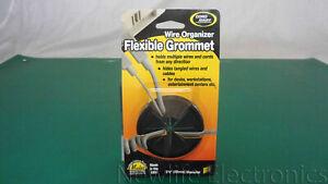 """Cord Away CA-238 2 3/8"""" Diameter Wire Organizer Flexible Grommet"""
