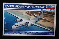 YB037 ESCI 1/72 maquette avion9111 Fokker F27-MK 400 Friendship Air UK F27
