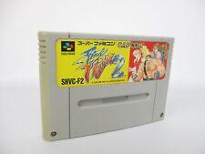 Super Famicom FINAL FIGHT 2 Nintendo Capcom Video Game Cartridge Only sfc