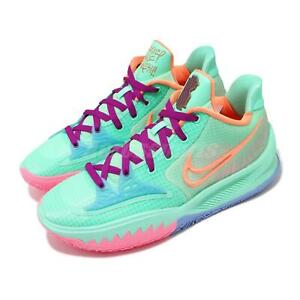 Nike Kyrie Low 4 EP Keep Sue Fresh Green Orange Men Basketball Shoes CZ0105-300