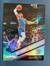 Russell Westbrook 2018-19 Prizm ir Duro O Ir A Casa De Plata # de tarjeta de Baloncesto de la NBA