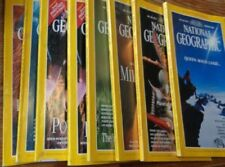 Illustrated Monthly National Geographic Magazines