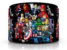 "LEGO MARVEL SUPERHEROES CEILING LIGHT LAMP LIGHT SHADE 11""  FREE  P & P"