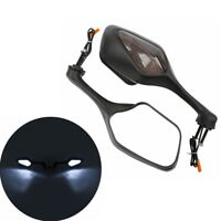 Rearview Mirrors w/ LED Turn Signal For Honda CBR1000RR 2008-2012 2009 2010 2011
