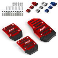3Pcs Non Slip Manual Transmission Car Pedal Cover Set for Brake Clutch Accelerat