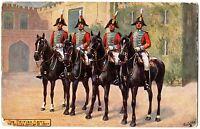 "CPA Militaria - TUCK and son ""Oilette"" - 9478. The British Army. Life Guards"