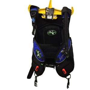Dacor XtremELLE, Weight Integrated BCD, Size X Small, Black w/ Blue