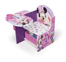 Disney Minnie Mouse Chair Desk With Storage Draw by Delta Children Tc85663mn UXX