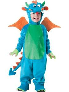 Dinky Dragon Deluxe Child Costume Small 3T