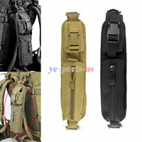 Backpack Shoulder Strap Pouch Molle Accessory Tool Attachment Bag Camping Hiking