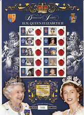 Bc-369 - Queen Elizabeth Ii Diamond Jubilee Smilers Stamp Sheet