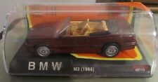 BMW M3 1988 Convertible Cabriolet New Ray Die Cast 1:43 Model 48719 NUOVO