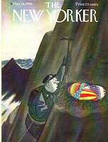 1959 New Yorker Mar 28 - Mountain Climber's Easter Eggs