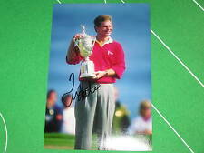Estados Unidos Pga fantástico, Tom Kite Firmado 1992 Us Open Trofeo Fotografía