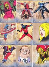 2011 Upper Deck Avengers: Kree-Skrull War Retro Character Card Set Of 27 Cards!