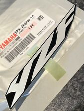2003 R6 YZF-R6 New Genuine Yamaha Right YZF Side Fairing Cowl Decal 5PW-2839H-10