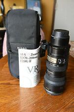 Nikon Nikkor 70-200mm F/2.8 G ED IF AF-S VR Lens