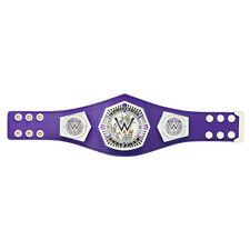 Official WWE Authentic  Cruiserweight Championship Mini Replica Title Belt Multi