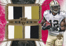 TOPPS SUPREME MARQUES COLSTON QUAD LOGO GAME USED JERSEY PATCH TRUE 1/1!