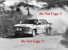 Walter Rohrl Opel Ascona 400 Safari Rally 1982 Photograph 1