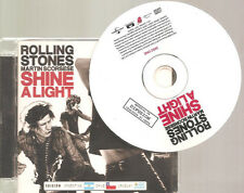 "ROLLING STONES / MARTIN SCORSESE ""Shine A Light"" Silkscreen Promo 2CD ARGENTINA"