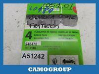 Pads Front Brake Pad Valeo CITROEN C15 Visa