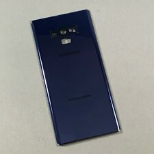 Samsung Galaxy Note 9 Back Battery Cover Glass Ocean Blue Assembly N960 w/ Lens