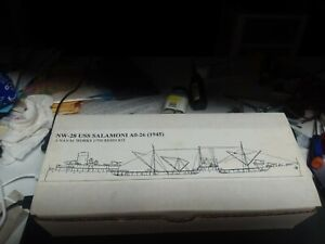 Naval Works 1/700 scale resin USS Salamoni  AO 26