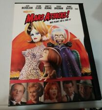 Mars Attacks (Dvd, 1997, Standard and letterbox) Very Good Rare Oop Vintage
