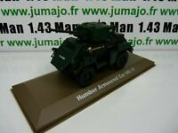 BL14U atlas IXO 1/43 Blindés WW2 : Humber armoured Car Mk IV