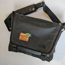 The North Face Base Camp Messenger Bag Travel Work Business Laptop Black