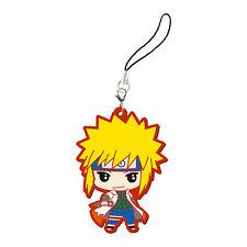Naruto Shippuuden Minato Rubber Phone Strap NEW