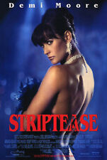 Striptease (1996) original movie poster international - single-sided - rolled