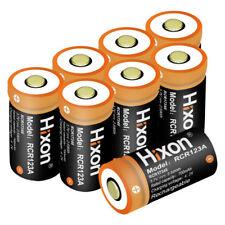 Hixon RCR123A 8PCS Stück Akku Für Arlo Kamera 3.7V 700mAh Li-ion Batterien 16340