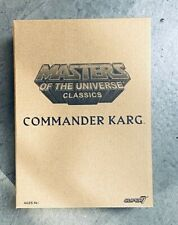 SMU-K: Masters of the Universe Classics William Stout Collection Commander Karg