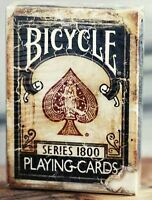 Bicycle Ellusionist Vintage Series 1800 BLUE Deck Marked US Playing Cards Poker