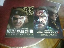2 Rare Japanese Metal Gear Solid Tokyo Game Show Promo TGS Rare Limited NEW LTD