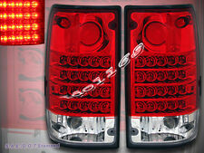 "1989-1995 TOYOTA PICKUP ""L.E.D."" TAIL LIGHTS LED PAIR WIth REVERSE BULBS"