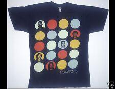 Maroon 5 North American Tour 2013 Size Medium Blue T-Shirt