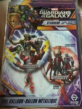 """18"""" foil balloon marvel guardians of the galaxy 2 sided aquaman groot starlord"""