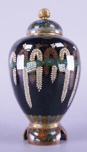 Fine Old Antique Japanese Meiji Period Cloisonné Vase
