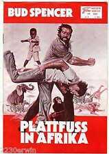 PLATTFUSS IN AFRIKA / NFK 235 Wien / Bud Spencer, Werner Pocharth